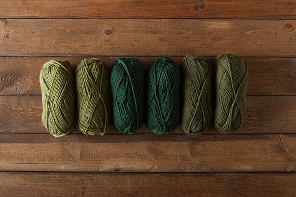 Prairie Wool of the Andes Worsted Sampler