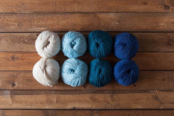 Deep Blue Sea - Gloss DK Sampler