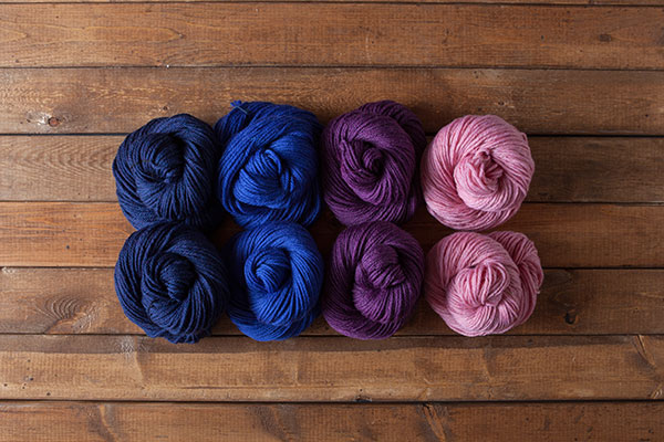 Wildflower - WOTA Superwash Bulky Sampler