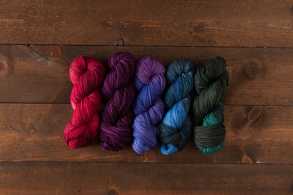 Hawthorne Dark Gem Sock Sampler