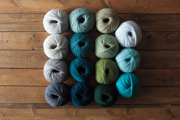 The Holiday at Sea Palette Yarn Sampler