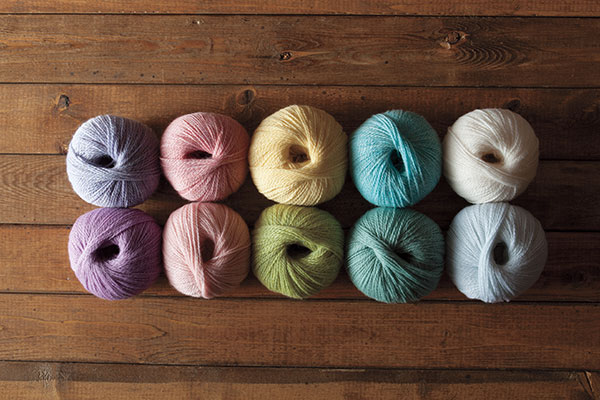 The Macaroon Palette Yarn Sampler