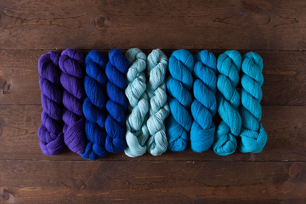 Blue Crush Alpaca Cloud Lace