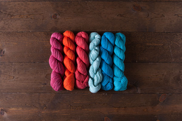 Tropical Sunset Alpaca Cloud Lace