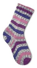 Two At Once, Toe-Up Sock Pattern Pattern