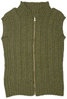 Slipped Cable Vest Pattern Pattern