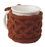 Cabled Mug Cozy Pattern