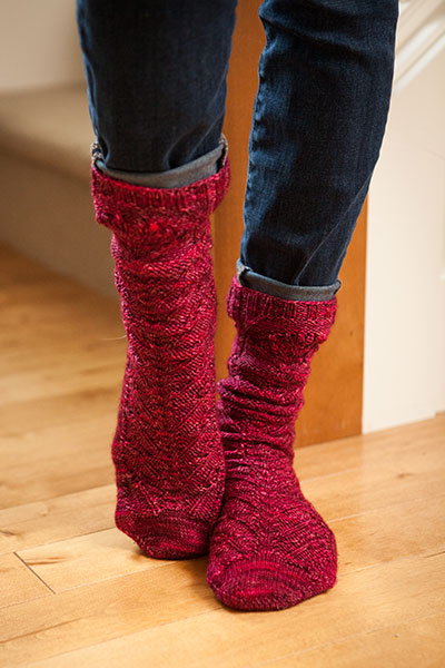 First Harvest Socks Pattern Pattern