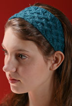 Lattice Cable Headband Pattern Pattern
