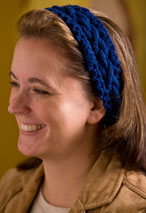 Chain Link Headband Pattern Pattern