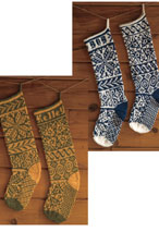 Modern Classics Christmas Stockings Pattern (Paid Download) Pattern
