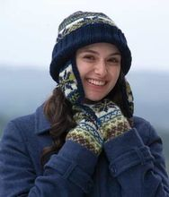 Learn to Fair Isle Maeve Hat and Mittens Pattern Pattern