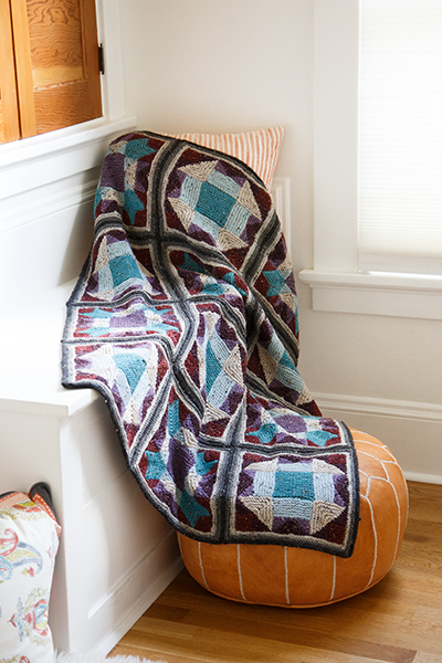 New Traditions Afghan Pattern