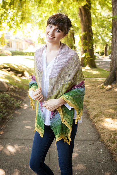 Spring/Summer Seasons Shawl Pattern