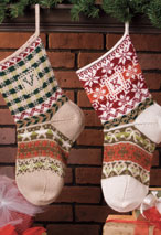 Hearthwarming Stocking Pattern Pattern
