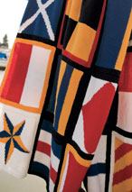 Nautical Blanket Pattern Pattern