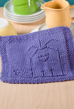 Put a Birdie on it Dishcloth Pattern Pattern
