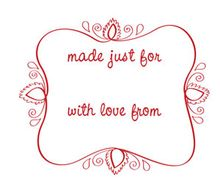 Gift Tag Labels - Printable Download Pattern