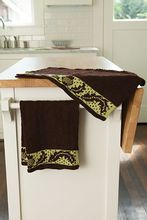 Thistle Hand Towels Pattern