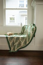 Fronds Afghan Pattern