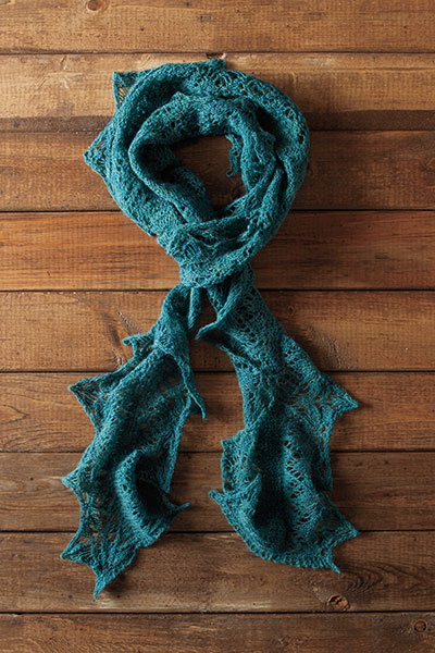 Iona Ruffled Scarf Pattern