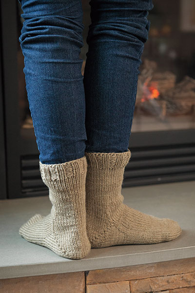 Worsted Socks Pattern