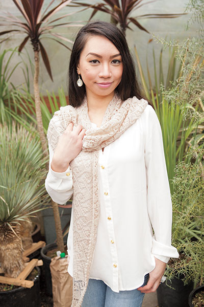Windermere Lace Wrap Pattern