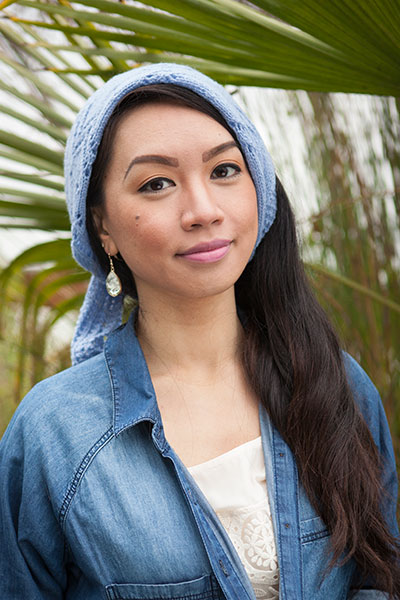 Flora Headscarf Pattern