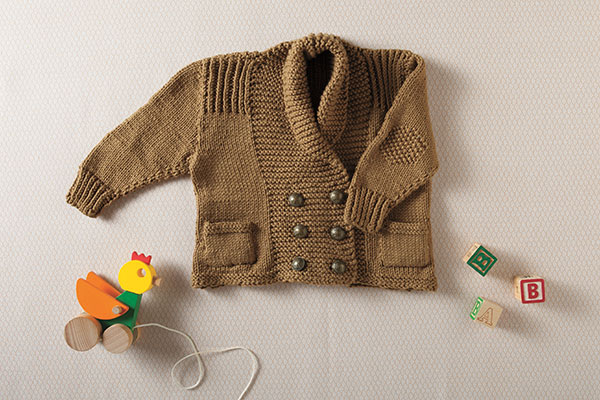 Little Old Man Jacket Pattern