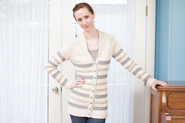 Striped Cardigan Pattern