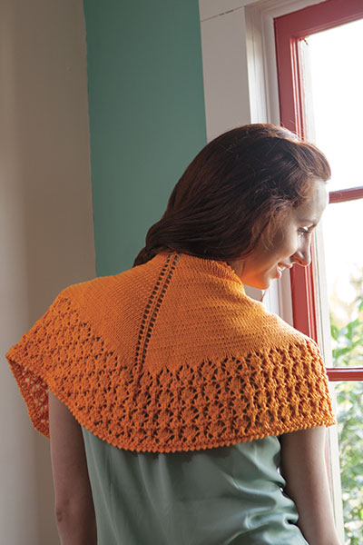 Sitting Pretty Shawlette Pattern