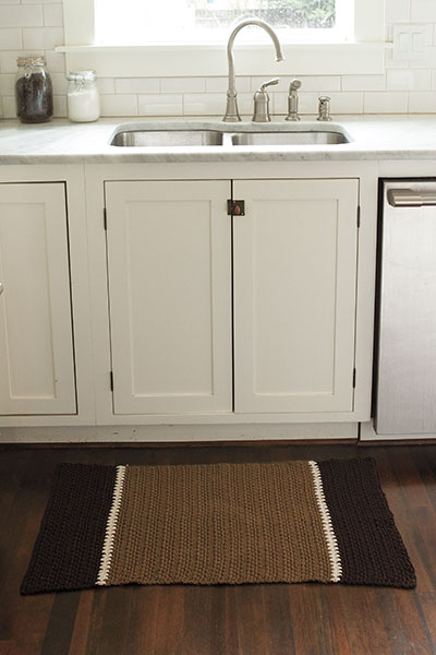 Crocheted Kitchen Rug Pattern