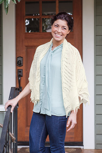 Peacock Shawl Pattern