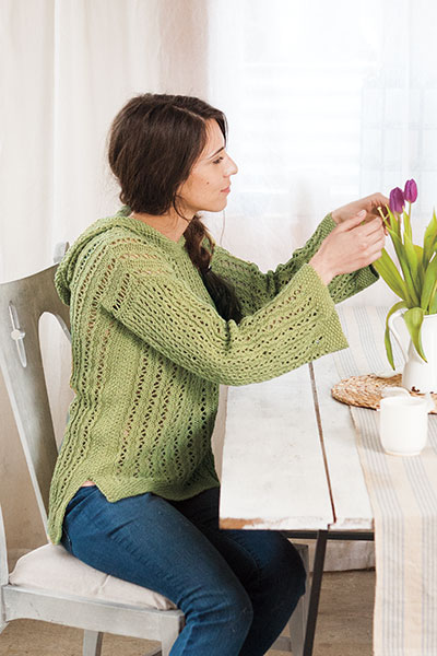 Repose Hooded Tunic Pattern