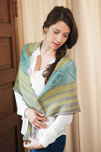 Sea Glass Sunshine shawl Pattern
