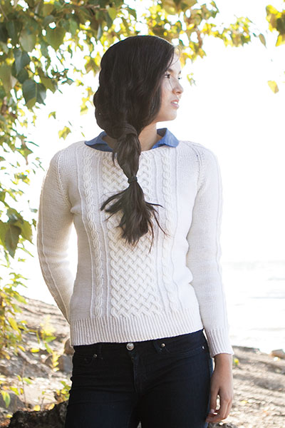 Cabled Pullover Pattern