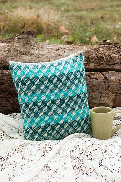 Glacier Bay Pillow Cover Pattern