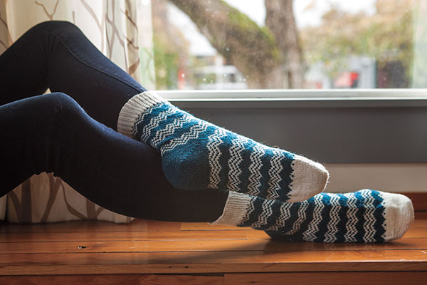Endless Peaks Socks Pattern