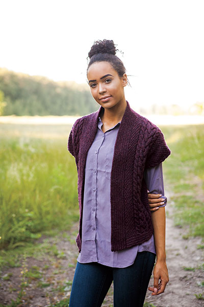 Fall Day Vest Pattern