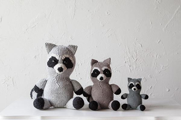 Pippen the Racoon Pattern