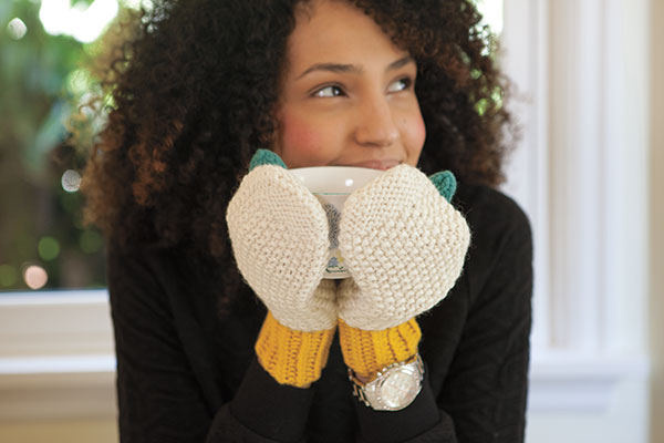 Intermix Mittens Pattern