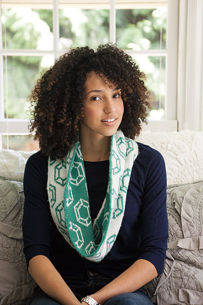 Jewel Be So Cozy Circle Scarf Pattern