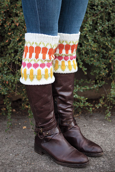Harvest Boot Toppers Pattern