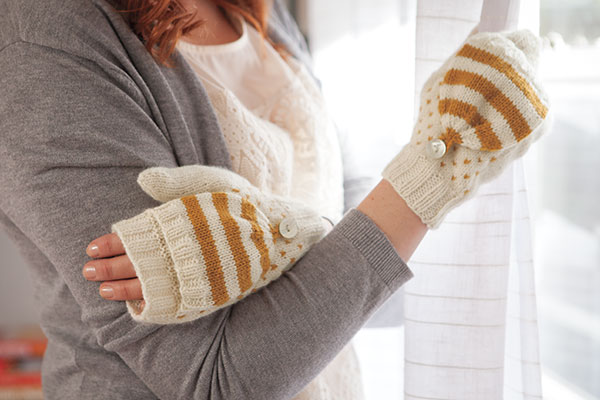 Colorwork Convertible Mitts Pattern