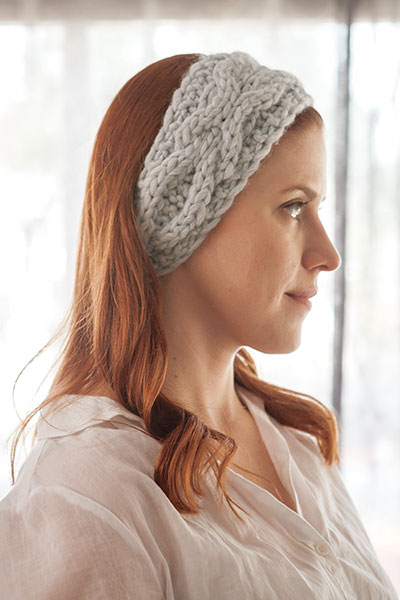 Mossbank Headband  Pattern