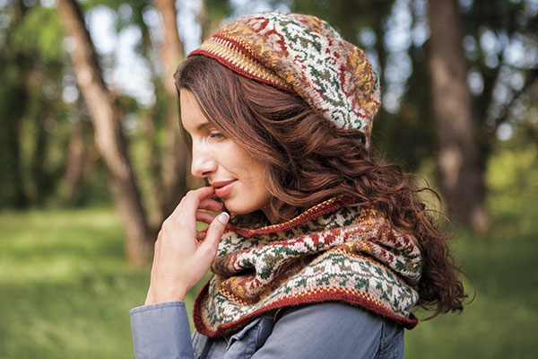 Summer Wanes Cowl and Hat Pattern