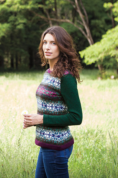 Carivel Colorblock Sweater Pattern