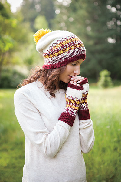 Fara Hat and Mitts Pattern
