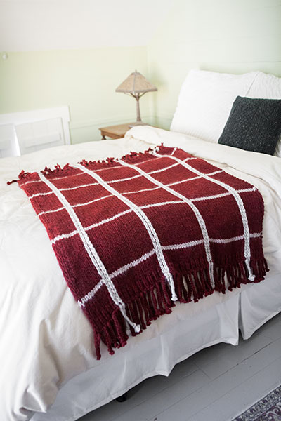 Plaid Afghan Pattern