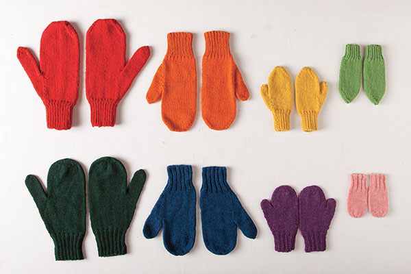 Knits for Everybody Mittens Pattern